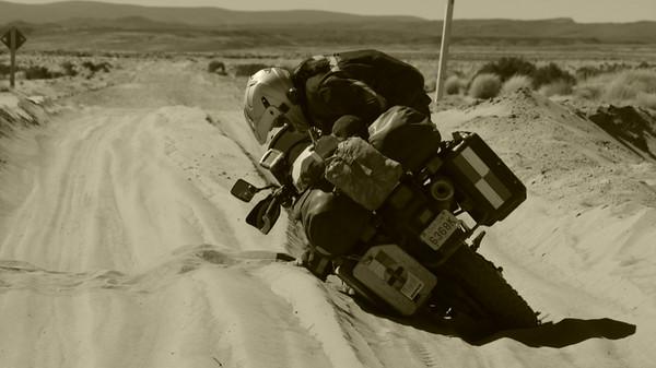 Adventures in sand.